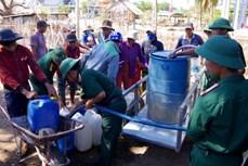 Bình Thuận tập trung giải quyết tình trạng thiếu nước sinh hoạt cho người dân