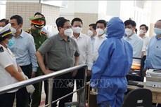 Thủ tướng Phạm Minh Chính làm việc tại Tây Ninh: Tập trung chống dịch COVID-19, không an toàn thì không sản xuất