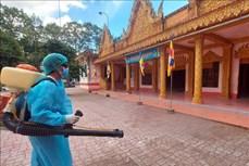 Đồng bào Khmer Sóc Trăng chung tay phòng, chống dịch COVID-19
