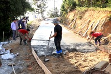 Nỗ lực xây dựng nông thôn mới ở huyện miền núi Hoàng Su Phì