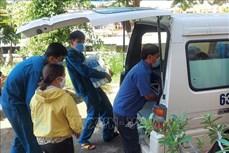 """Dịch COVID-19: Tiếp tục vận chuyển hàng hóa nông sản bằng """"luồng xanh"""" đường thủy đến Thành phố Hồ Chí Minh"""