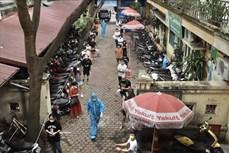 Dịch COVID-19: Có 184 cơ sở y tế ngoài công lập ở Hà Nội thực hiện xét nghiệm SARS-CoV-2