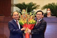 Ông Nguyễn Xuân Phúc được bầu giữ chức Chủ tịch nước nhiệm kỳ 2021 - 2026