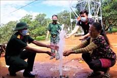 Hơn 300 hộ đồng bào Mông ở xã Đắk Ngo được cấp nước sạch