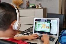 Hà Nội: Chủ động các giải pháp dạy trẻ lớp 1 học trực tuyến