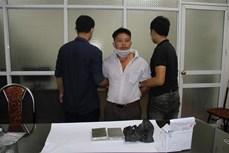 Bắt đối tượng Ma Seo Cu vận chuyển trái phép 2 bánh heroin