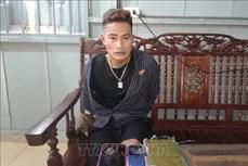 Bắt đối tượng Lò Văn Hà vận chuyển trái phép 1 bánh heroin
