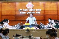 Ứng phó với bão số 6: Quảng Trị nghiêm cấm tàu thuyền ra khơi từ chiều 23/9