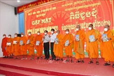 Đồng bào Khmer Sóc Trăng đón lễ Sene Dolta an toàn
