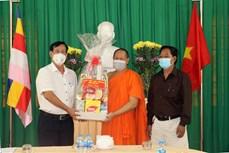Cần Thơ chúc mừng Lễ Sen Dolta 2021 của đồng bào Khmer