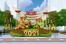 """Đường hoa Nguyễn Huệ Tết Tân Sửu 2021 hứa hẹn rực rỡ với chủ đề  """"Thành phố Hồ Chí Minh: Văn minh - Hiện đại - Nghĩa tình"""""""