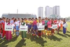 Sôi động Giải bóng đá mừng Tết cổ truyền Chôl Chhnăm Thmây tại thành phố Hồ Chí Minh