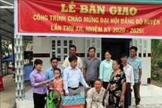 Hỗ trợ xây nhà cho đảng viên nghèo -  việc làm mang tính nhân văn sâu sắc ở Vĩnh Thuận (Kiên Giang)