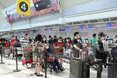 越南政府组织第四躺从加拿大回国的航班 将340名越南公民接回国