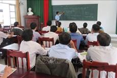 宁顺省提高各所学校的少数民族语言教学质量