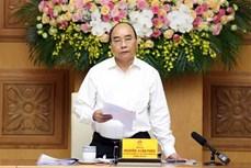 政府总理阮春福主持召开越共十三大经济社会小组第六次会议