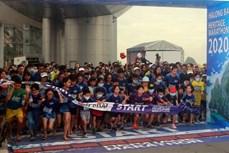 2020年下龙湾国际遗产马拉松大赛吸引2500余名运动员参加