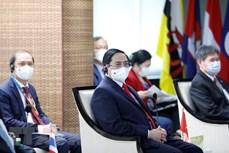 越南政府总理范明政出席东盟领导人会议
