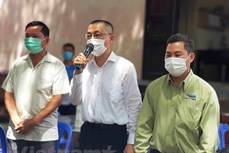 新冠肺炎疫情:越南驻柬埔寨大使呼吁在柬越南人不要偷渡回国