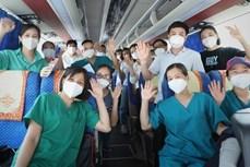 全国近4500名医务人员支援胡志明市抗击新冠肺炎疫情
