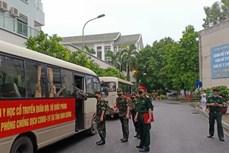 传染病野战医院抗疫医疗队出征 支援南方疫情防控工作
