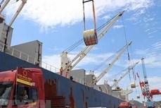 今年前7个月越南货物进出口总额增长29.5%