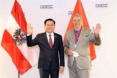 越南与奥地利经贸合作继续向前迈进