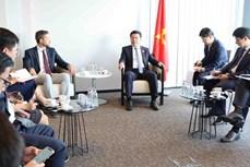 越南工贸部长和比利时企业商讨合作生产新冠疫苗事宜