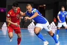 2021年五人制足球世界杯:越南首场不敌巴西