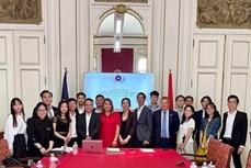 在欧洲越南大学生青年协会联合会正式成立