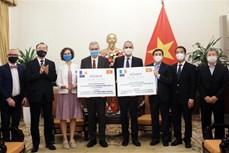 法国和意大利向越南援助150万剂新冠疫苗