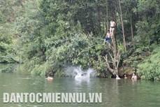 Cảnh báo đuối nước đối với trẻ em ở vùng dân tộc và miền núi