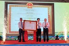 Địa phương cấp huyện đầu tiên của tỉnh Sóc Trăng hoàn thành xây dựng nông thôn mới