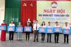 Đắk Lắk: Sôi nổi Ngày hội Đại đoàn kết toàn dân tộc ở khu dân cư