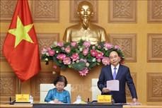 Thủ tướng Nguyễn Xuân Phúc gặp gỡ đại biểu Quỹ Học bổng Vừ A Dính