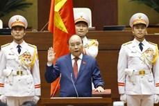 国家主席阮春福宣誓就职 承诺实现国家强大、全面且可持续发展目标