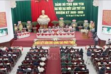 Tiến tới Đại hội XIII của Đảng: Đảng bộ Kon Tum tổ chức Đại hội sớm nhất khu vực Tây Nguyên