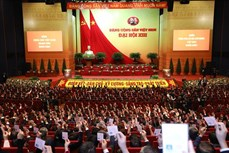 Một số hình ảnh trong ngày đầu Đại hội đại biểu toàn quốc lần thứ XIII của Đảng