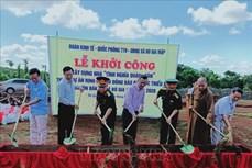Xây dựng nhà tình nghĩa cho đồng bào dân tộc thiểu số huyện biên giới Bù Gia Mập