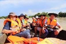 """Nhân 95 năm Ngày Báo chí Cách mạng Việt Nam: Tác nghiệp an toàn tại """"điểm nóng"""" thiên tai"""