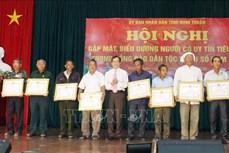 Ninh Thuận phát huy vai trò tiên phong, gương mẫu của người có uy tín trong đồng bào dân tộc thiểu số