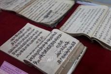 """Tiến tới Đại hội XIII của Đảng: Hòa Bình khai trương phòng trưng bày """"Bộ sưu tập Tranh thờ cổ và hiện vật văn hóa"""""""