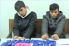 Sơn La: Bắt giữ hai đối tượng mua bán trái phép hơn 5.400 viên ma túy tổng hợp