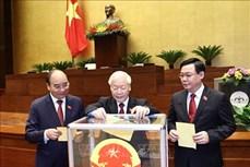 Kỳ họp thứ 11, Quốc hội khóa XIV: Tiến hành quy trình bầu Chủ tịch nước và Thủ tướng Chính phủ