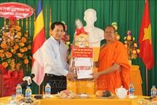 Chúc mừng Tết cổ truyền Chôl Chnăm Thmây của đồng bào Khmer ở Cần Thơ