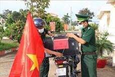 """Tiền Giang phát huy hiệu quả mô hình """"Tiếng loa Biên phòng"""" trong tuyên truyền về bầu cử"""