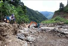 Sơn La khẩn trương khắc phục thiệt hại do mưa lũ tại Mường La