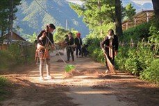 Nhân rộng các mô hình bảo vệ môi trường của phụ nữ Lai Châu