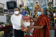 Người Khmer Cà Mau không đến cơ sở thờ tự trong dịp lễ Sene Dolta để phòng dịch COVID-19