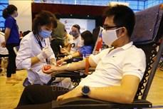 """Hơn 1.000 người tham gia Ngày hội hiến máu tình nguyện """"Giọt hồng xứ Tuyên"""""""